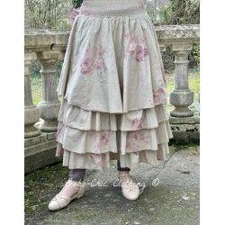 skirt / petticoat JOSEPHINE floral cotton poplin