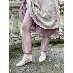 panty SUZON tulle de coton prune à pois Les Ours - 1