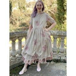 robe AMBRE voile de coton fleurs Les Ours - 1