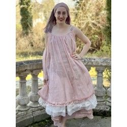 dress LAURIE pink organza