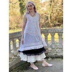 dress LAURINE ecru organza