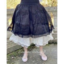 skirt / petticoat LOU black organza