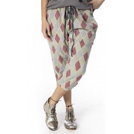 pantalon Pitre Suit in Claret Magnolia Pearl - 1
