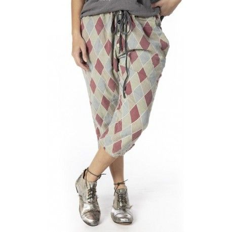 pants Pitre Suit in Claret Magnolia Pearl - 1