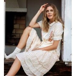 skirt / petticoat 22997 voile Block print