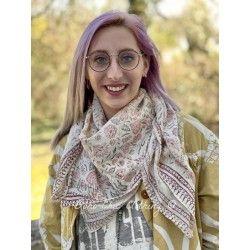 scarf Jasmine Magnolia Pearl - 1