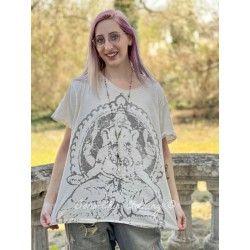 T-shirt Ganesha in Moonlight