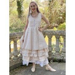 dress 55687 Powder organdie