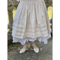 skirt / petticoat 22106 Powder shirt cotton