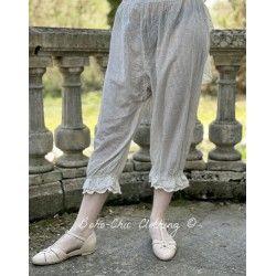 panty / pants 11357 Vintage black check voile