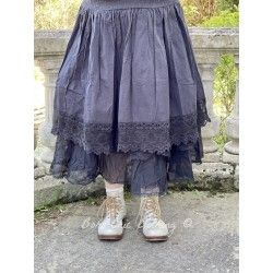 Jupe 22131 coton Vintage black Ewa i Walla - 1