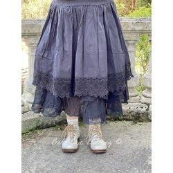 skirt 22131 Vintage black shirt cotton Ewa i Walla - 1