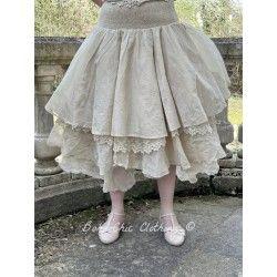 skirt / petticoat 22991 Sand organdie