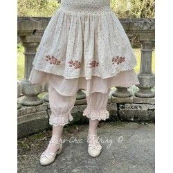 skirt / petticoat 22102 Red dot voile