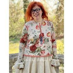 pullover 44765 Flower print jersey
