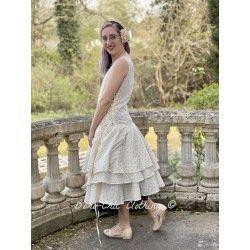 dress 55698 Vintage black dot voile Ewa i Walla - 1