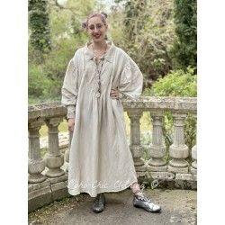 robe-chemise Tora in Herbert Magnolia Pearl - 1