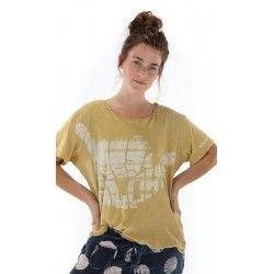 T-shirt Hang Loose in Marigold Magnolia Pearl - 1