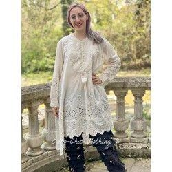 shirt Ines in Antique White Magnolia Pearl - 1