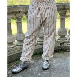 pantalon Emmett in Encore Magnolia Pearl - 1