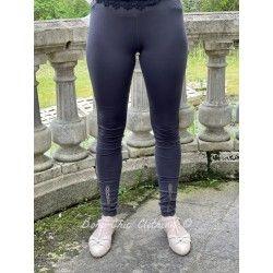 legging 11361 Vintage black cotton Ewa i Walla - 1