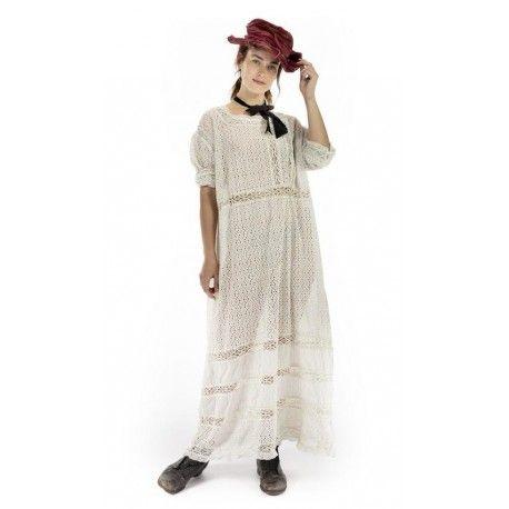 robe Billie Ann in Moonlight Magnolia Pearl - 1
