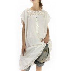dress Devigny in Celestial Magnolia Pearl - 1