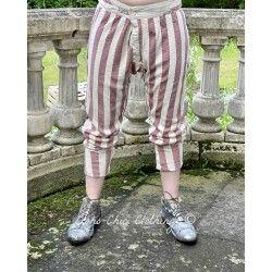 pants Whistlestop Underjohns in Big Top Red Magnolia Pearl - 1