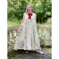 robe Art Graphic Layla in Moonlight Magnolia Pearl - 1