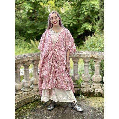 robe-tunique Jaya Kaftan in Hawn Sixties Magnolia Pearl - 1