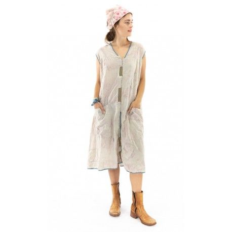 dress Delia in Jayne Austin Magnolia Pearl - 1