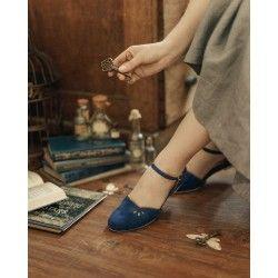 chaussures Corvo Bleu nuit Charlie Stone - 1