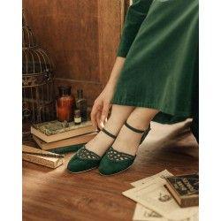 chaussures Serpente Émeraude Charlie Stone - 1