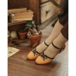 chaussures Texugo Moutarde Charlie Stone - 1