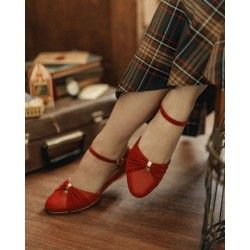 shoes Grifo Scarlet Red Charlie Stone - 1