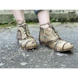 chaussures Willard Tattered in Idol