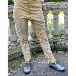 pants Whistlestop Underjohns in Marigold Magnolia Pearl - 1