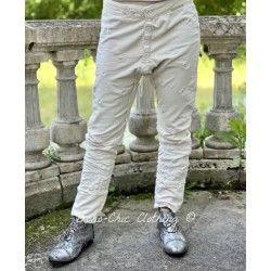 pants Whistlestop Underjohns in Moonlight Magnolia Pearl - 1
