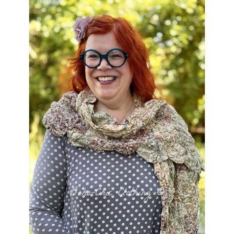foulard Greta in Anise Rose Petal