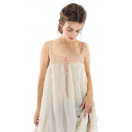 dress Robina in French Vanilla Magnolia Pearl - 1