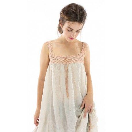 robe Robina in French Vanilla Magnolia Pearl - 1