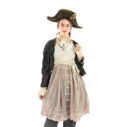 dress Maja in Tory Dot Magnolia Pearl - 1