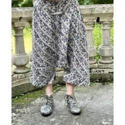 pantalon Willis in Huckleberry Magnolia Pearl - 1