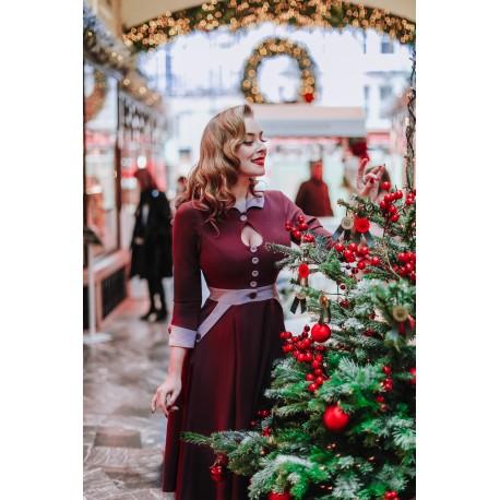 robe Hania Plum Miss Candyfloss - 1