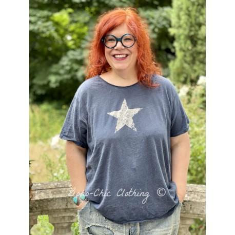 T-shirt Preston Joseph Star in Deep Boro Magnolia Pearl - 1