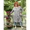robe-veste St Anny Smock in Abbey Dot Magnolia Pearl - 1