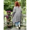 robe-veste St Anny Smock in Abbey Dot Magnolia Pearl - 6