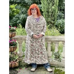 coat Bernice Duffle in Flora