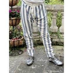 pants Whistlestop Underjohns in Big Top Blue Magnolia Pearl - 1
