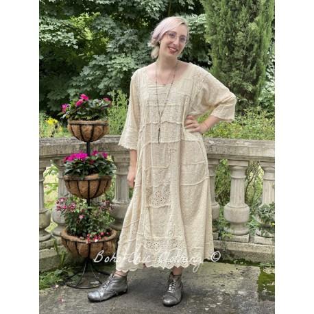 robe Lilian in Antique White Magnolia Pearl - 1